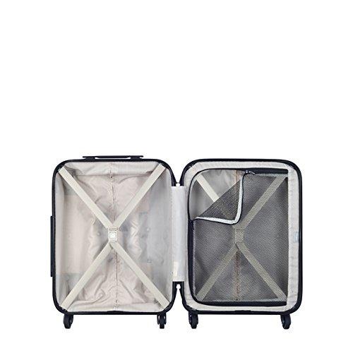 Delsey Carlit luggage Trolley cabin 4R Slim 55 black -