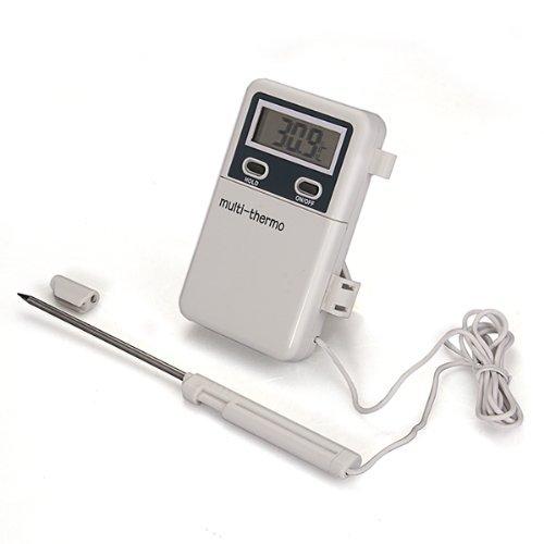 Sonline Termometro Digital Con Sonda De Metal De Cocina