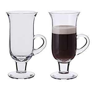 dartington gl ser f r irish coffee transparent 2 st ck k che haushalt. Black Bedroom Furniture Sets. Home Design Ideas