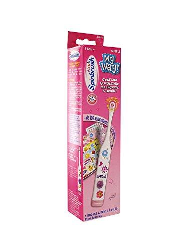 Spinbrush - Brosse à Dents Electrique Enfant - Fille