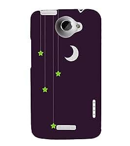 FUSON Eid Al Fitr Chand 3D Hard Polycarbonate Designer Back Case Cover for HTC One X :: HTC One X+ :: HTC One X Plus :: HTC One XT