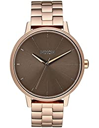 Nixon Unisex-Armbanduhr Kensington Analog Quarz Edelstahl A099 - 2214-00