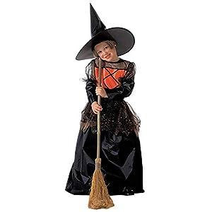 WIDMANN Widman - Disfraz de halloween bruja para niño, talla 10 años (38857)