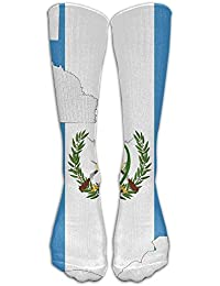 Mens Womens Novelty Guatemala Map Flag Long Sock Athletic Calf High Crew Soccer Socks Sports