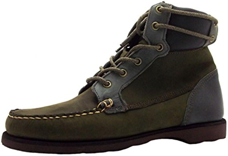 Sebago Scout avvio, Stivali Uomo verde verde, verde (verde), 44 | Stile elegante  | Gentiluomo/Signora Scarpa