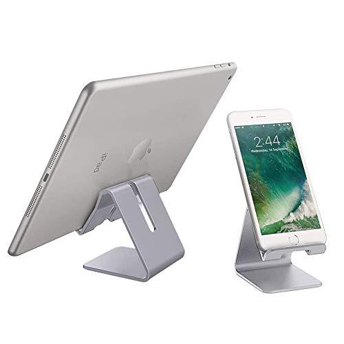 PRITECH Handyhalterung Tischhalterung für Smartphones Phone XS Max XR X 8 7 6 Plus 5 4, Nintendo Switch, Samsung S8 S7, Huawei, Xiaomi und andere Smartphones