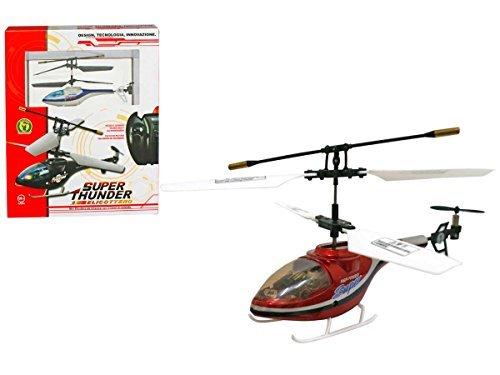 Modellino mini elicottero radiocomandato 3 colori giocattolo idea regalo #pi 8033614012048