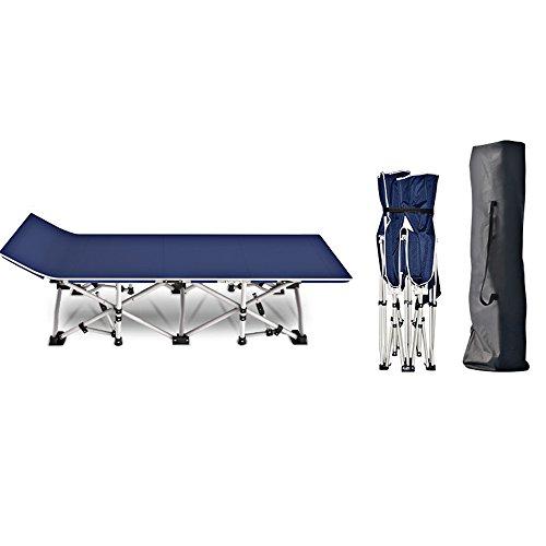Home & Style XXL Campingbett Feldbett 178 cm- Belastbarkeit bis 450 kg