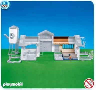 PLAYMOBIL 6209 - Extension de l'étable l'étable l'étable pour la ferme moderne avec silo   En Ligne  0b48fd