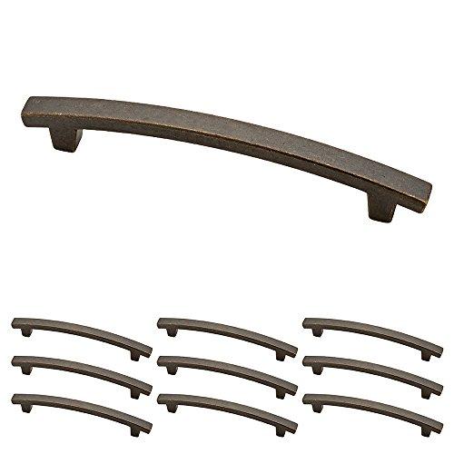 Franklin Laiton Nickel satiné 12,7 cm Pierce de cuisine ou meubles Cabinet Hardware Poignée de tiroir Pull, P29616K-WCN-B