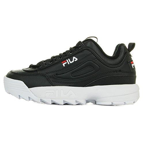 Fila Disruptor Low W Calzado Black