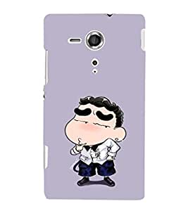 EPICCASE Thinking Ching Shang Mobile Back Case Cover For Sony Xperia SP (Designer Case)