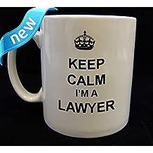 Keep Calm and Carry on Lawyer Mug