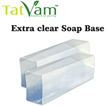Tatvam Extra Clear Melt and pour Soap Base, 1 Kg