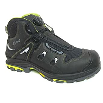 Grisport GRS986-43 Boa Style Safety Boots, Size: 43, Black (Pack of 2)