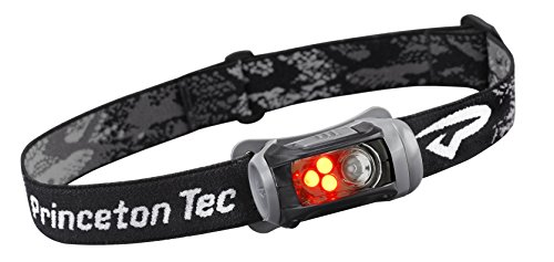 Princeton Tec Remix LED Scheinwerfer, Black w/Red LED's