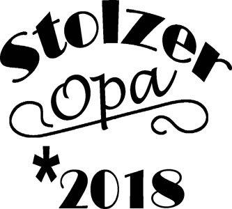 Mister Merchandise Herren Men T-Shirt Stolzer Opa 2018 Tee Shirt bedruckt Grün