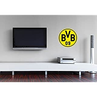 Wandtattoo - Borussia Dortmund Logo - 40x40 cm - Art. Nr. BVB10002 - Wall-Art