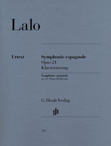 Symphonie Espagnole Op.21 - Vl/Po