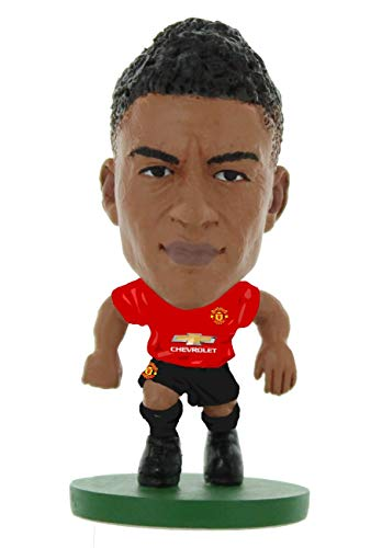 SoccerStarz SOC1054 Man Utd Jesse Lingard-Home Kit (2019 Version)/Figuras, Verde