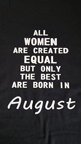 Tutte le donne sono creati uguali.. Best are born agosto giugno luglio può etc... sacchetto di iuta, Navy, April CERISE