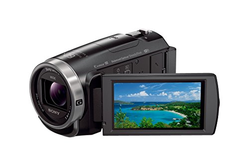 Sony HDR-CX625 Full HD Compact Camcorder (5-Axis Balanced Optical SteadyShot, 30x Optical Zoom, Wi-Fi and NFC) - Black
