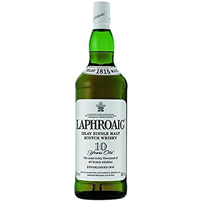 Laphroaig 10 Year Old Single Malt Scotch Whisky 35cl Half Bottle