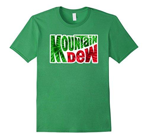 mountain-dew-t-shirt-soft-touch-style-31337-herren-grosse-l-grun