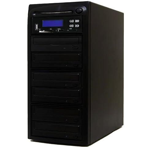 Systor 1 à 5 M-Disc CD DVD Duplicator et USB / SD / CF à M-Disc CD DVD Copier sauvegarde Tour