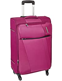 American Tourister Michigan Polyester 57 cms Magenta Carry-On (AMT MICHIGAN SP57CM TSA MAGNTA)