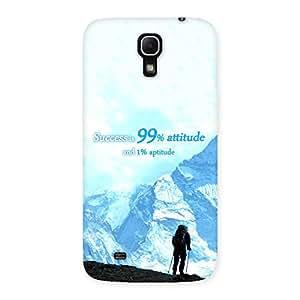 Premium Attitude Success Back Case Cover for Galaxy Mega 6.3