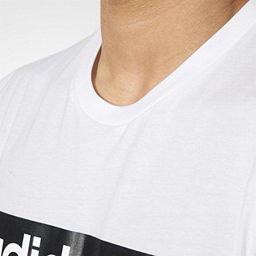 adidas Street Graph T-Shirt weiß