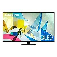 تلفزيون سامسونج QA65Q80TAUXZN 65 بوصة QLED 4K فلات سمارت - Q80T (2020)