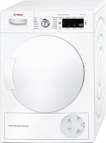 Bosch WTW845W0 Serie 8  Wärmepumpentrockner / A+++ / 8 kg / Selbstreinigender Kondensator / weiß