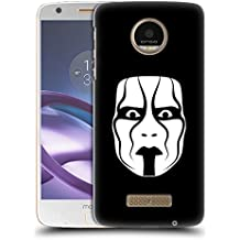Ufficiale WWE The Mask Sting Cover Retro Rigida per Motorola Moto Z / Z Droid