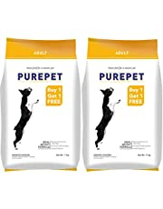 Purepet Adult Smoked Chicken, 1.1 kg (Buy 1 Get 1 Free)