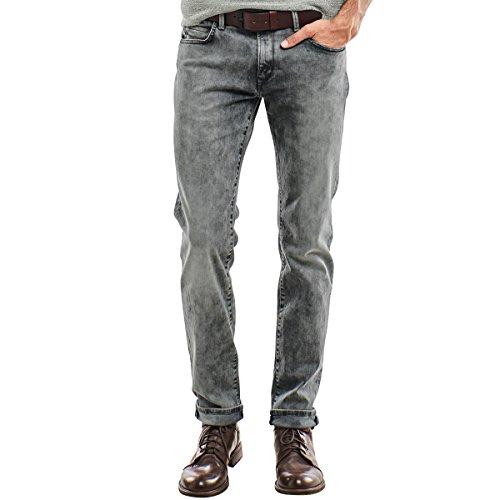 emilio adani Herren Moon washed Jeans, 23920, Grau in Größe 38/32