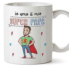 Idea Regalo - Mugffins Papà Tazza/Mug -