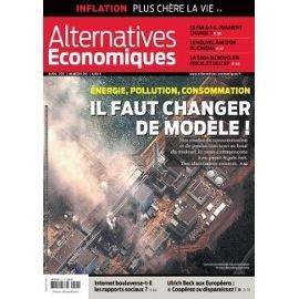 alternatives Economiques n° 301 - énergie pollution consommation il faut changer de modèle !