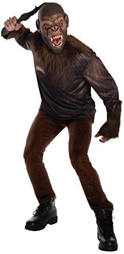 Kostüm Affe Caesar - Rubie's Caesar Kostüm Planet der Affen Erwachsenen