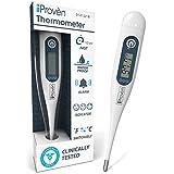 Digitales Fieberthermometer - Rektaler Babythermometer - Oralthermometer für Babys und Kinder - Fieberthermometer...