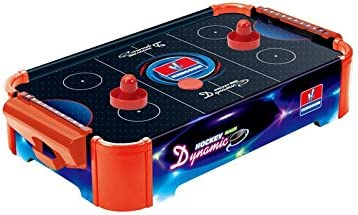 Toyshine Battery Operated Air Hockey Game Table for Kids (Multicolour, HG298N)