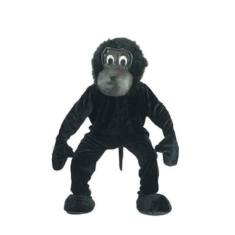 Dress Up America - 302-XL - Déguisement de l'effrayant gorille - 16-18ans - taille 152cm et plus - Noir