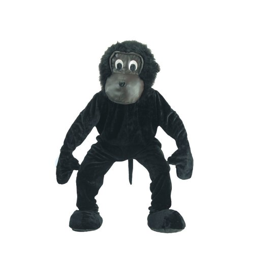Dress Up America 302-Adult - Kostüm Set fürchterlicher Gorilla, schwarz