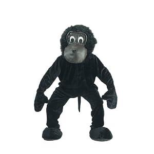 Dress up America Conjunto de Disfraces de Mascotaa de Gorila de Miedo para Adultos
