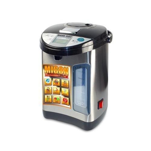 MIGON - Thermopot Wasserkocher Thermoskanne 4 l mit Netzschalter