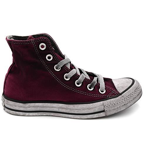 80335a0ef2 Converse Damenschuhe All Star Ltd Ed Damen Sneaker High Canvas Bordeaux Chuck  Taylor Frühling-Sommer