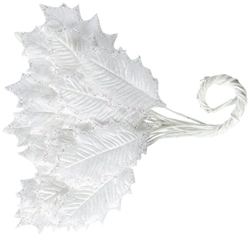 Victorian Samt (Prima Marketing A Victorian Christmas Samt/Maulbeer-Papier leaves-snowflake 1.4-inch, 1)