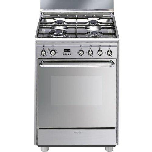 Smeg SCB60MX9 Cuisinière Gaz 79 L