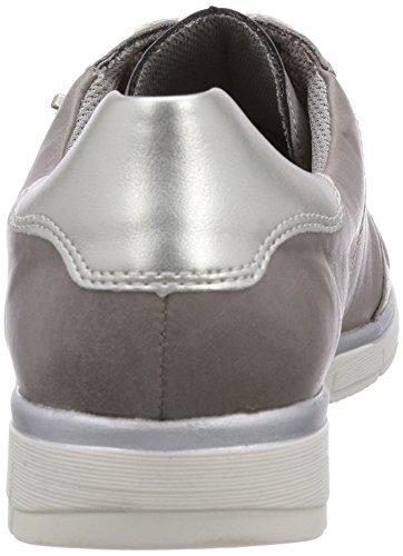 Remonte Dorndorf R4000, Derby femme Gris - Grau (whiteiron/silver 42)